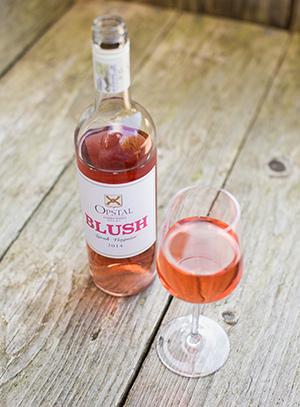 Opstal blush rosé wijn