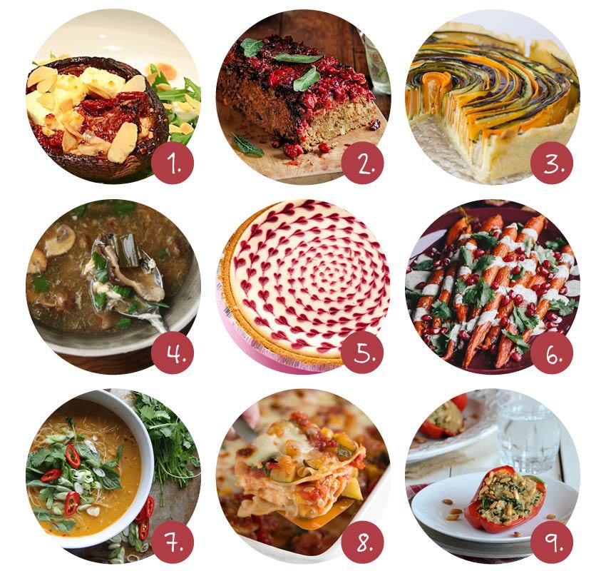 9x vegetarische kerstrecepten