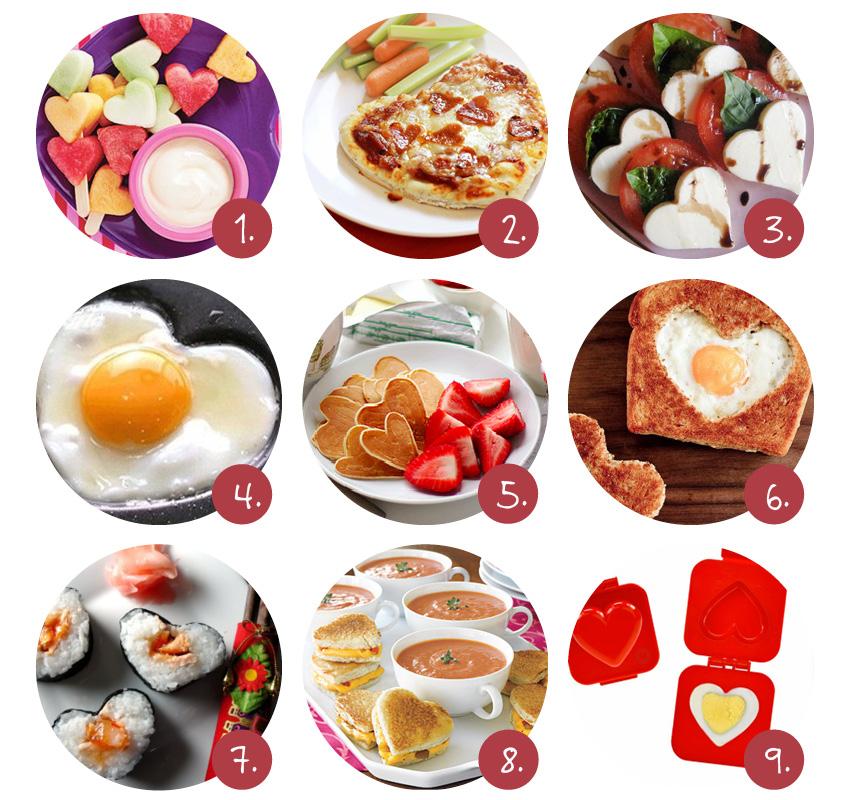 eten maken voor valentijn