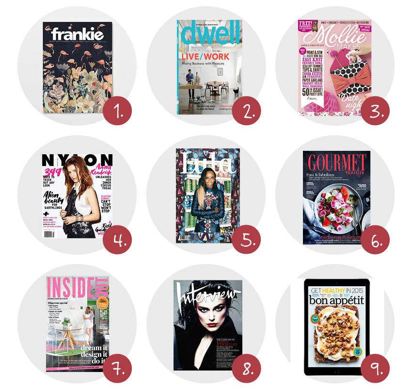 9x inspirerende internationale tijdschriften