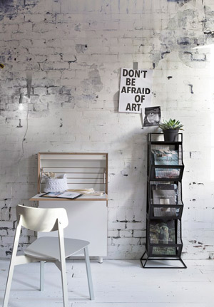 Industrieel behang vtwonen: stoere look in huis - Like & Love