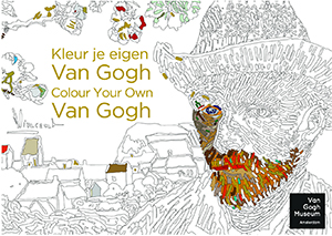 Kleurboek Vincent van Gogh