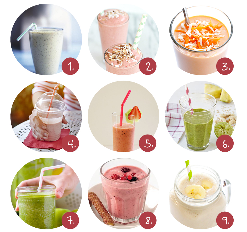 Zomerse smoothies