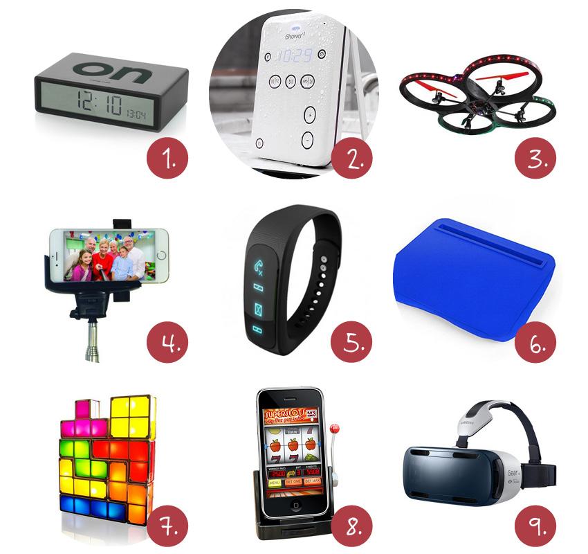 Vaderdag gadgets