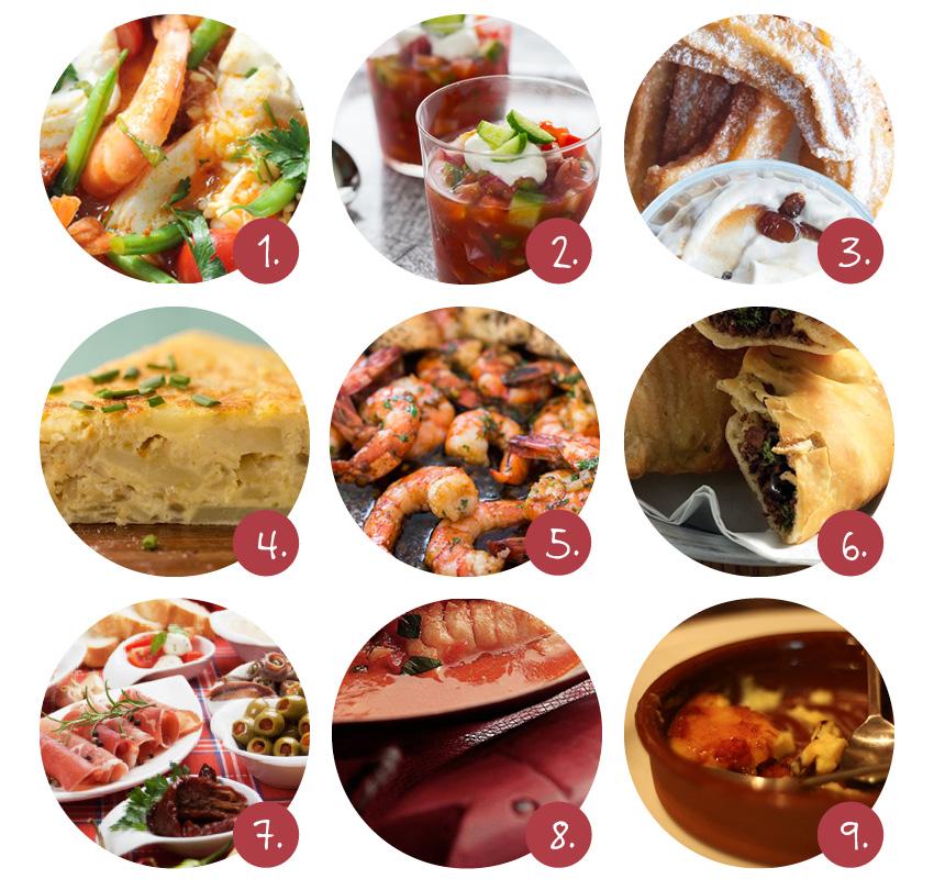 Spaanse gerechten