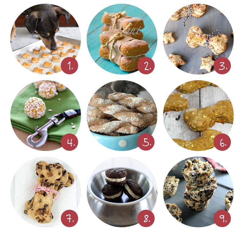 zelfgemaakte hondenkoekjes