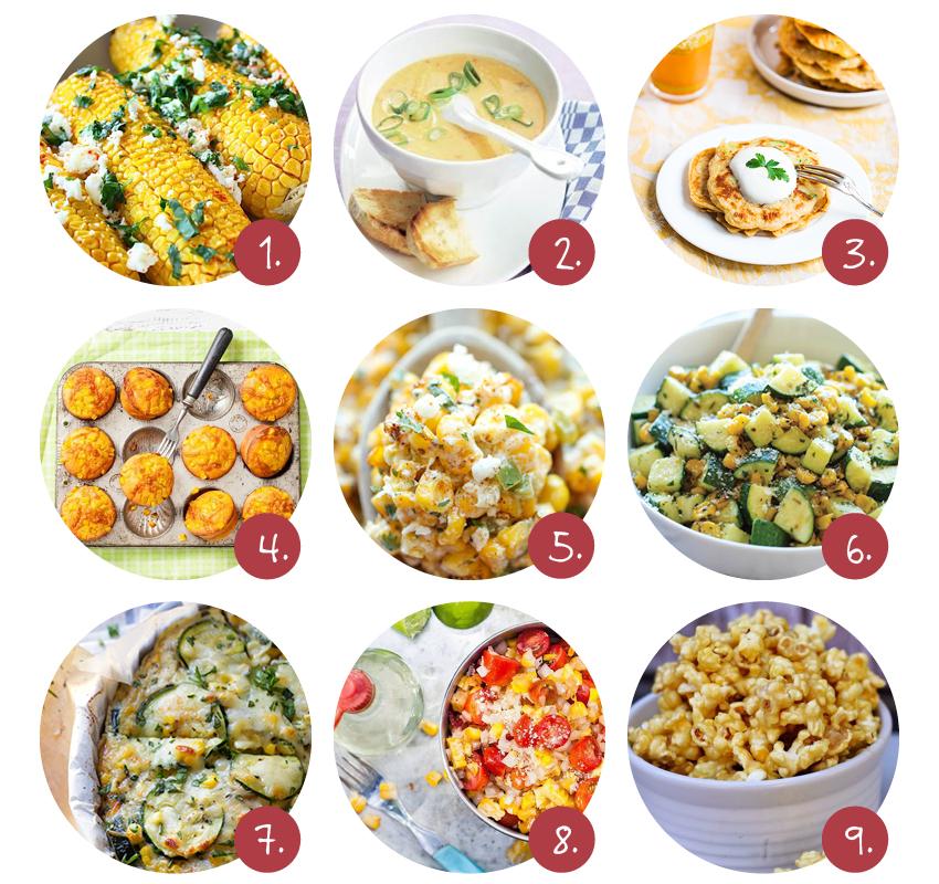 maïs recepten