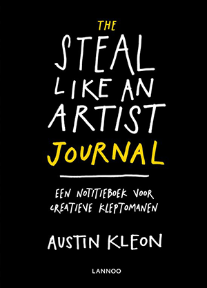Steal like an artist journal, creatief notitieboek