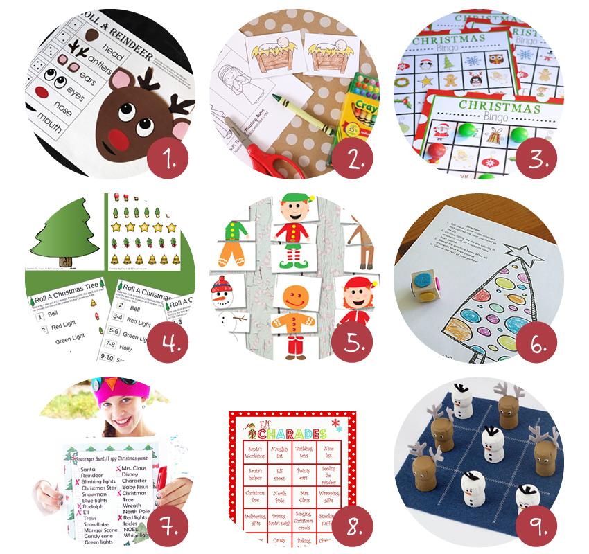 Kerst spelletjes voor kinderen