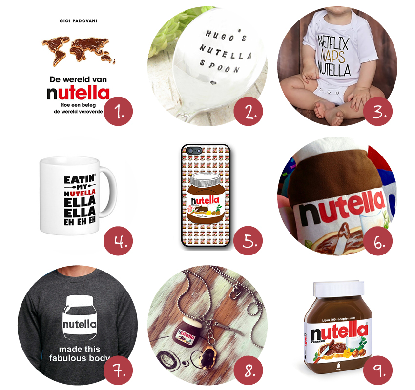 Nutella dag musthaves