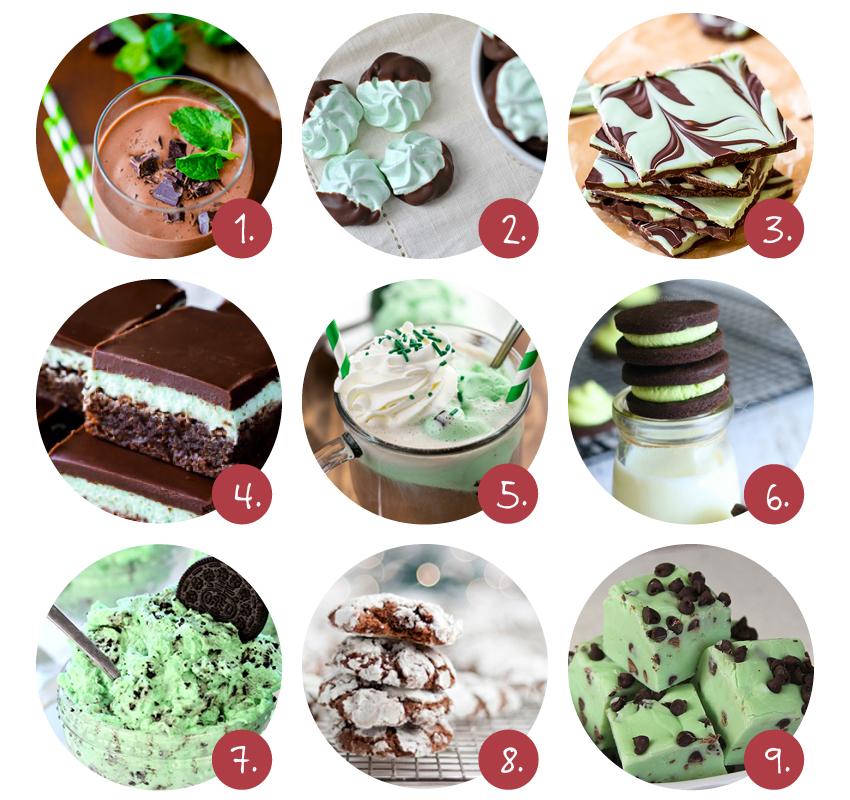 chocolade-munt-recepten