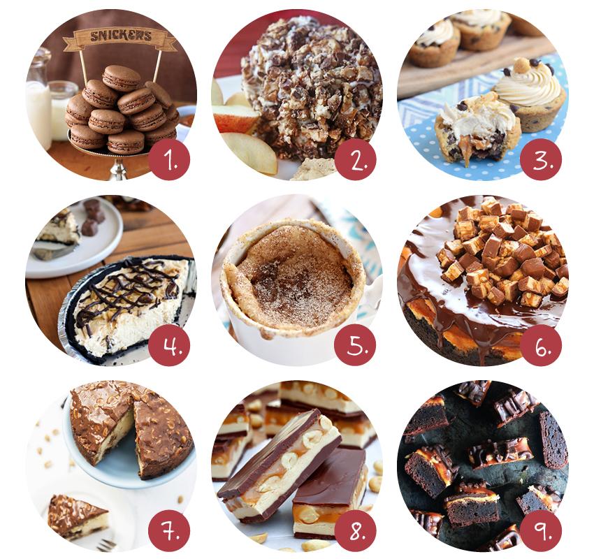 Snickers recepten