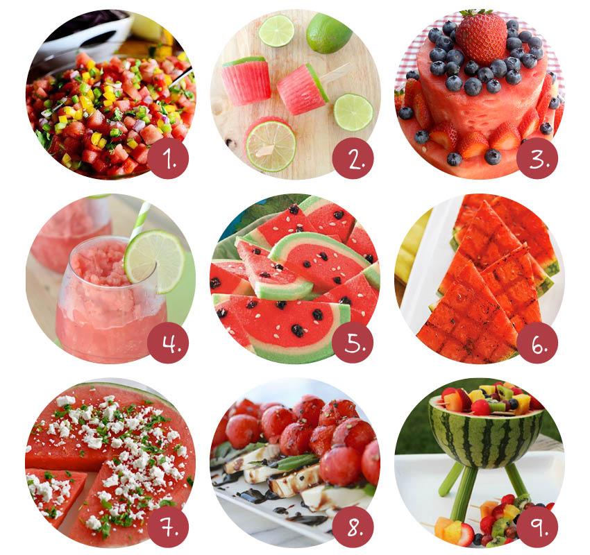 9x de lekkerste watermeloen-recepten