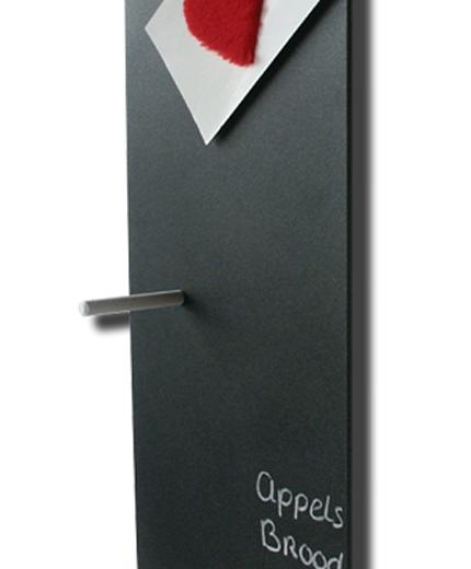Magnetisch Krijtbord Keuken : leuk, zo?n memobord in de keuken. Maar waar is je krijtje gebleven