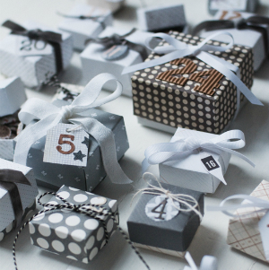 Adventskalender zelf maken: origami