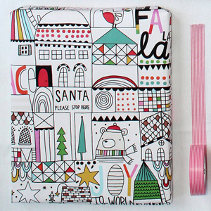 Kerstcadeautjes inpakken: kerstpapier