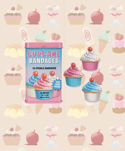cupcake pleisters