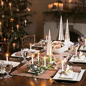 Tafel feestelijk versieren