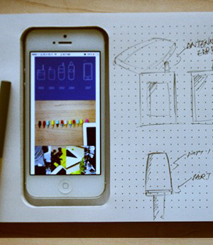 Grappige iPhone-gadgets: Phone+Book