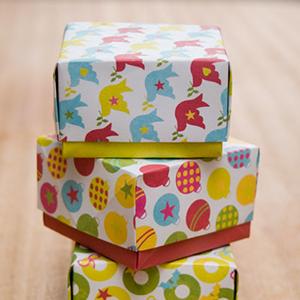Gratis printables voor kerst: cadeau-doosjes