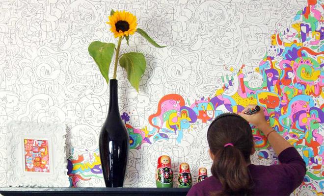 Oneindig kleuren voor volwassenen like love it for Kleuridee voor volwassen kamer