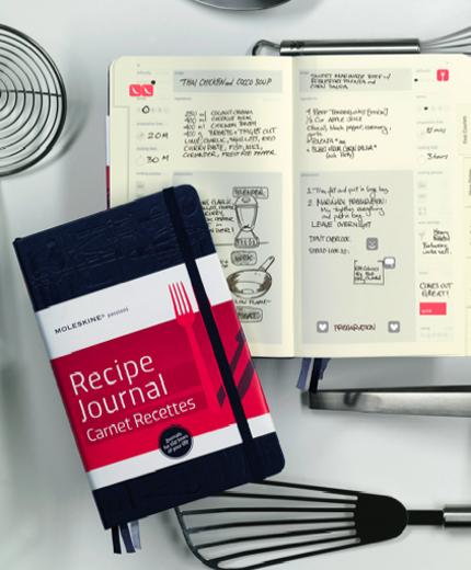 Receptenboek Moleskine