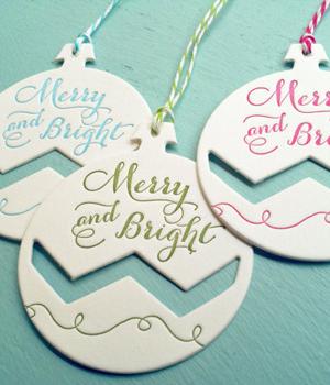 kerst-cadeaulabels letterpress