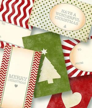 printfunfactory: leukste kerst-cadeaulabels