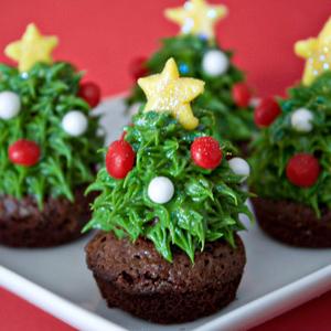 5x de lekkerste kerstkoekjes: kerstboom-brownies
