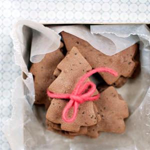 5x lekkerste kerstkoekjes: zandkoek-boompjes