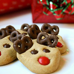 5x de lekkerste kerstkoekjes: rendiertjes