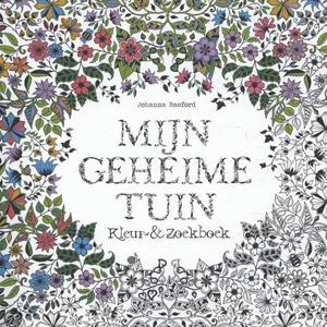 Mijn geheime tuin, kleuren binnen de lijntjes, kleurboek voor volwassenen