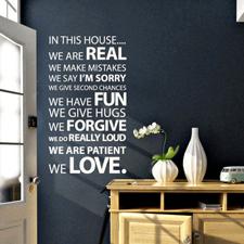 Mooiste muurstickers: quotes