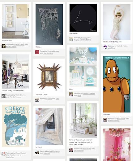 Pinterest, online moodboards maken