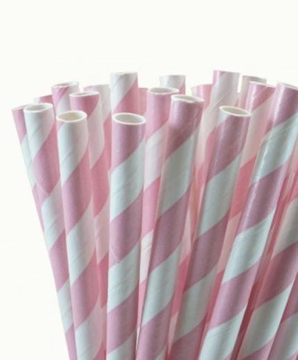 Roze rietjes