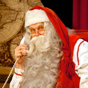 De Kerstman bestaat in Santa Claus Village