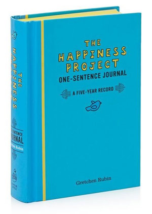 The Happiness Project Journal, geluksdagboek
