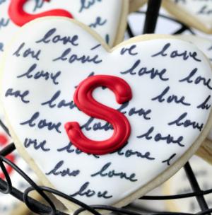 Valentijnsdag koekjes: liefdeskoekjes