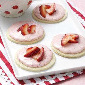 Valentijnsdag koekjes: shortcake