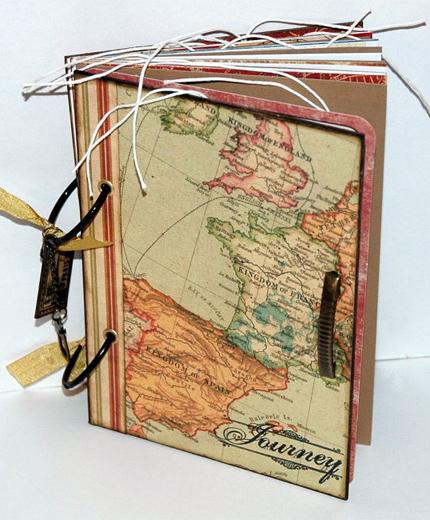 vintage reisdagboek