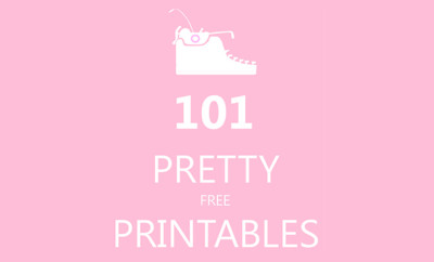 101 gratis printables
