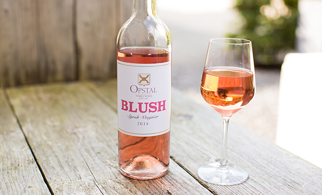 Opstal Blush rosé wijn uit Zuid-Afrika
