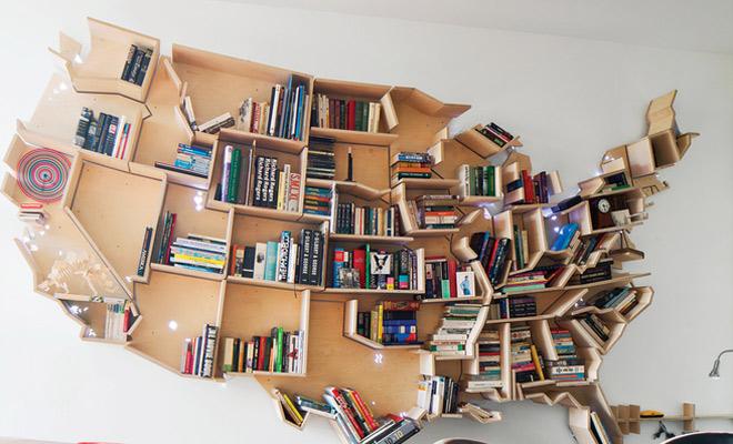 9x originele boekenkasten