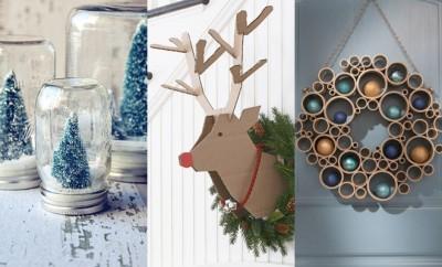 Goedkope DIY kerstdecoraties