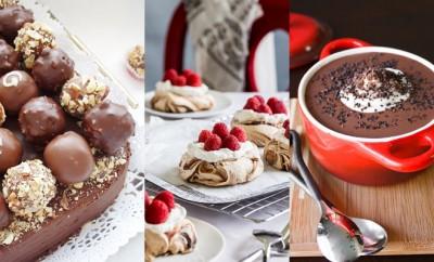 Kerstdesserts chocolade