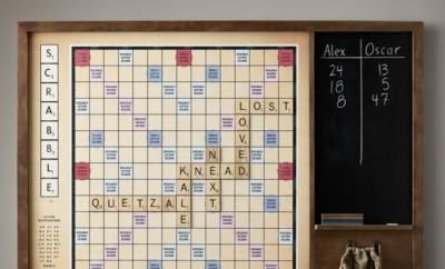 Mega Scrabble bord