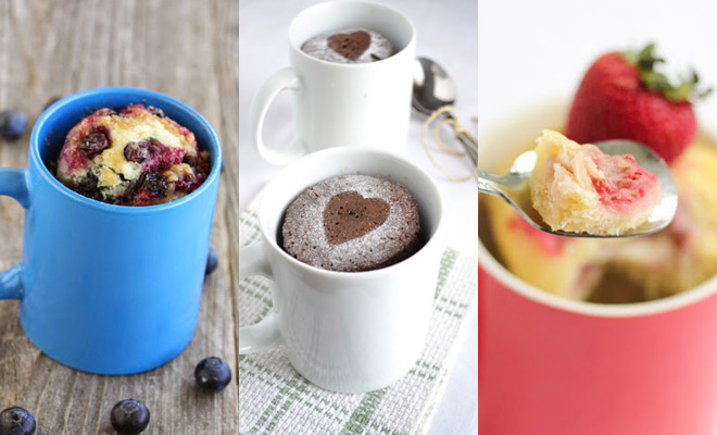 Mug cake recepten