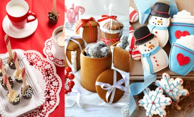 Eetbare kerstcadeaus