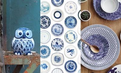 Delfts blauwe woonaccessoires
