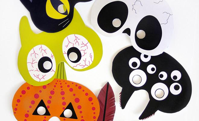 Scary! Halloween maskers om zelf te maken   Like & Love (it!)